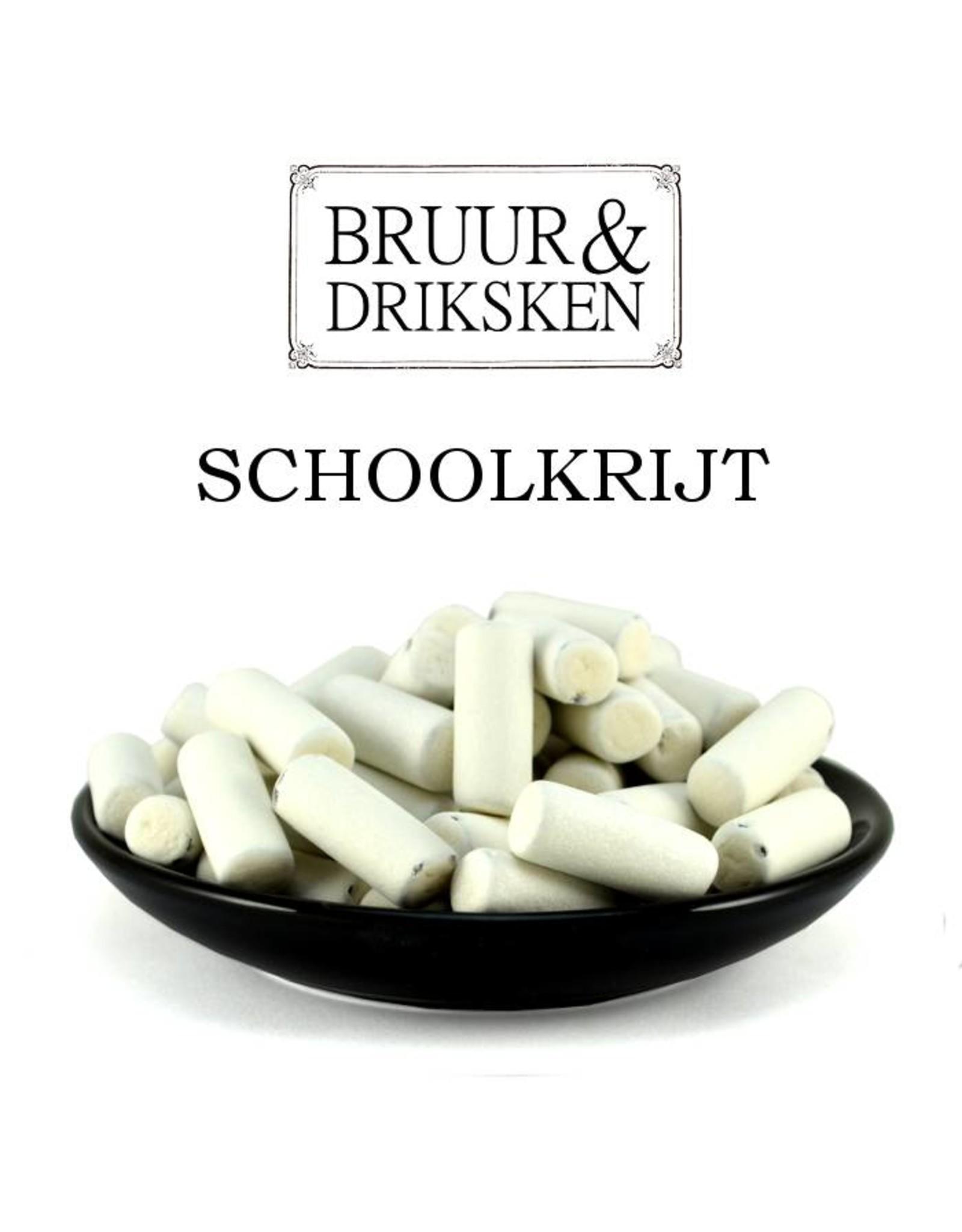 Bruur Schoolkrijt oud-Hollandse drop