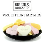 Bruur vruchten hartjes (oud-Hollands snoep)
