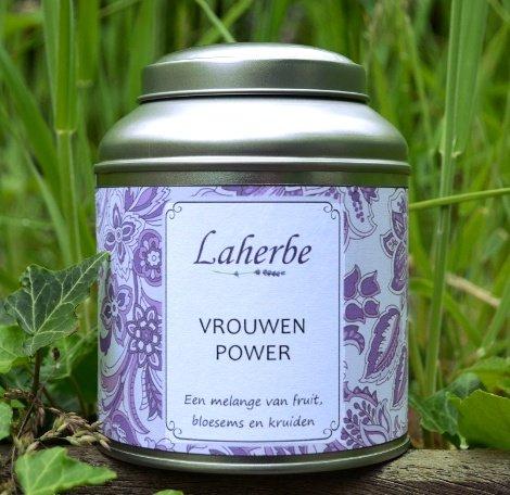 Ontdek nu de puur natuurlijke thee melanges van Laherbe: VrouwenPower