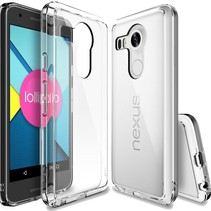 Ultra Dun 0.3mm Transparant Hoesje TPU Case Cover LG Nexus 5X