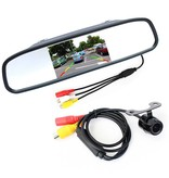 Geeek Reversing Camera Set Wireless Car and Truck in Rearview Monitor with 12V / 24V