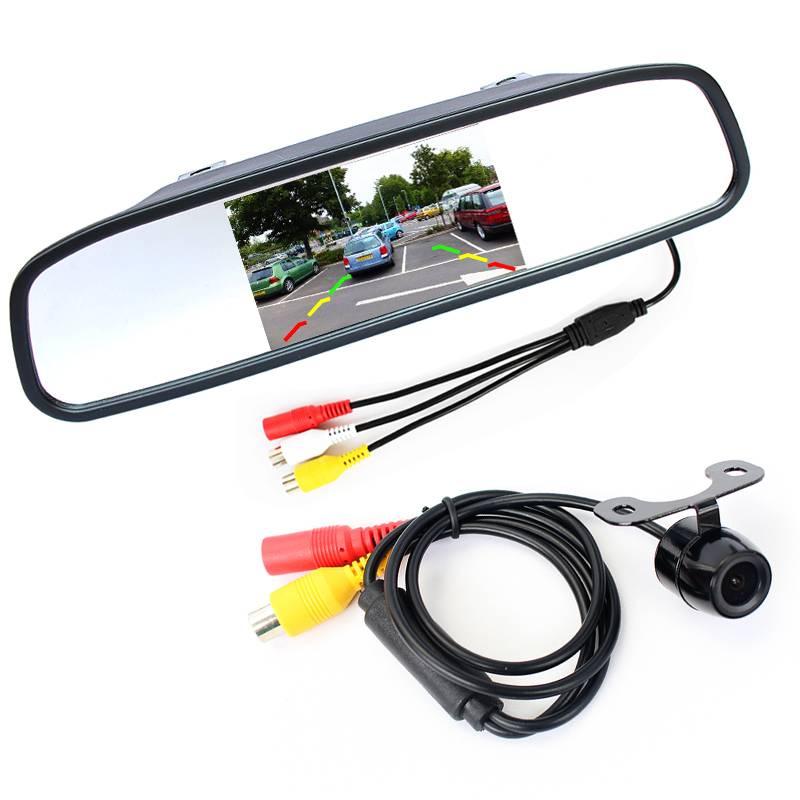 De beste uitbreiding voor je auto, vrachtwagen of bus. met deze draadloze achteruitrijcamera set met ...