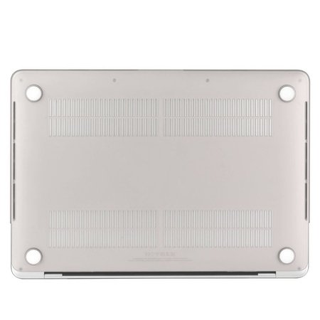 Geeek Ultradünne Matt Gummierte Hartschale Schutzhülle für Apple MacBook Pro 13-Zoll (2016) Silber