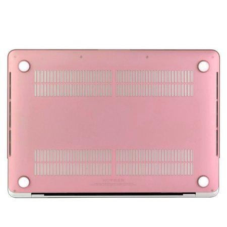 Geeek Hardshell Rubber Cover Case Mat MacBook Pro 13 inch (2016) Roze