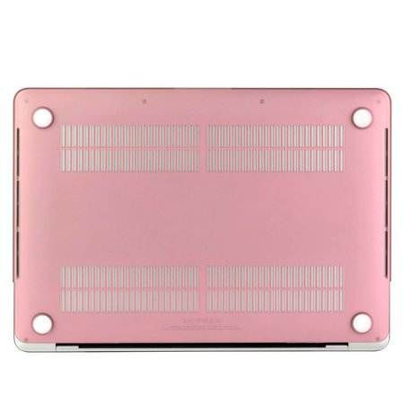 Geeek Hardshell Rubber Cover Case Matte MacBook Pro 13-inch (2016) Pink