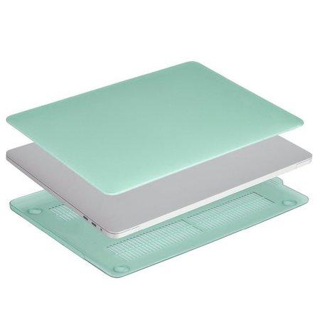 Geeek Ultradünne Matt Gummierte Hartschale Schutzhülle für Apple MacBook  Pro 13-Zoll (2016) Grün