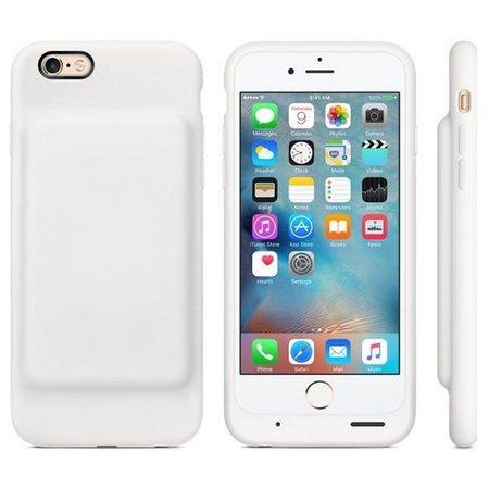Geeek Smart Battery Case cover 3500mAh voor iPhone 6 / 6S Wit