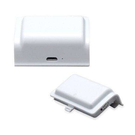 Geeek 400mAh Akku und USB-Ladekabel für Xbox One (S) Wireless-Controller