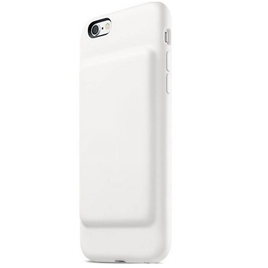 info for e8819 63107 Geeek Smart Battery Case Cover 2500mAh for iPhone 7 / 8 White