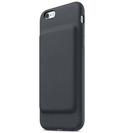 Geeek Smart Battery Case cover 3500mAh voor iPhone 6 / 6S Zwart