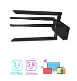 Geeek Dual Band 1900Mbps USB 3.0 Wireless Wifi LAN Adapter met 4x 6dbi Antennes