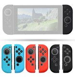 Geeek Silicone Anti Slip Cover for Nintendo Switch Controller Blue