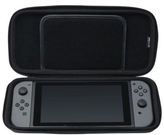 Beschermhoes Case Cover Zwart voor Nintendo Switch