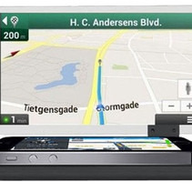 Smartphone Head Up Display-HUD Auto-Navigation
