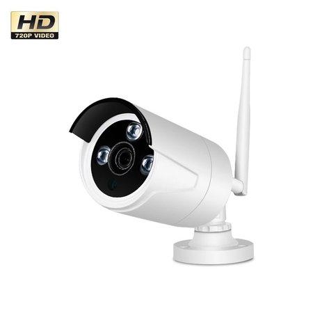Geeek Wireless WiFi Beveiligingscamera set met 4 Cameras Outdoor Buiten 1080P IP Draadloos