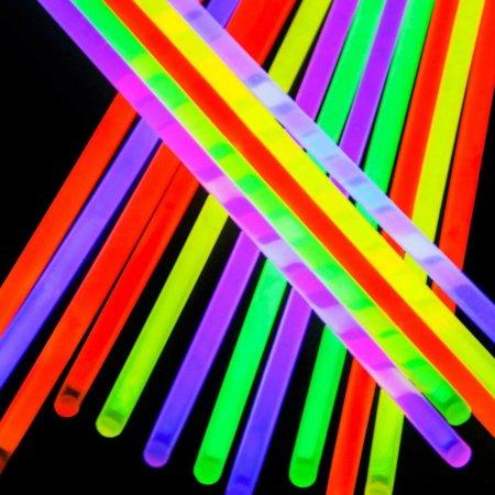 Geeek Glow Stick Neon Armbanden Multicolor 100 stuks
