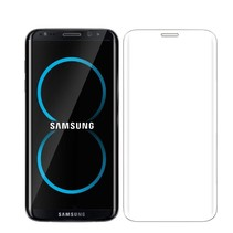 Sterke Tempered Glass Screenprotector Samsung S8 3D Clear