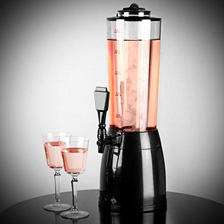 Geeek 2,5 Liter Bier Turm Juice Drink Dispenser Kühlturm