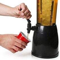 2.5 Liter Beer Tower Juice Beverage Dispenser Cooler Tower
