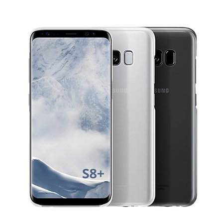 Geeek Samsung S8 Plus Ultra Dun Hoesje Case Cover Zwart 0.3mm