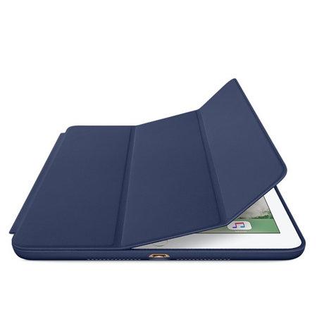 Geeek iPad Air Smart Case Ledertasche – Blau