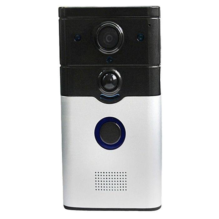 Met deze wifi smart deurbel hd camera weet je altijd wie er voor de deur staat, zonder deze te openen. ...