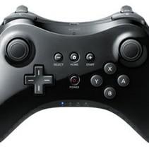 Draadloos Wireless Pro Controller voor Nintendo Wii U - Zwart