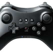 Wireless Pro Controller for Wii U - Black