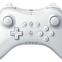 Wireless Pro Controller for Wii U - White