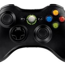 Wireless Controller für Xbox 360-Schwarz