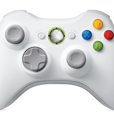 Geeek Draadloze Controller voor Xbox 360-Wit