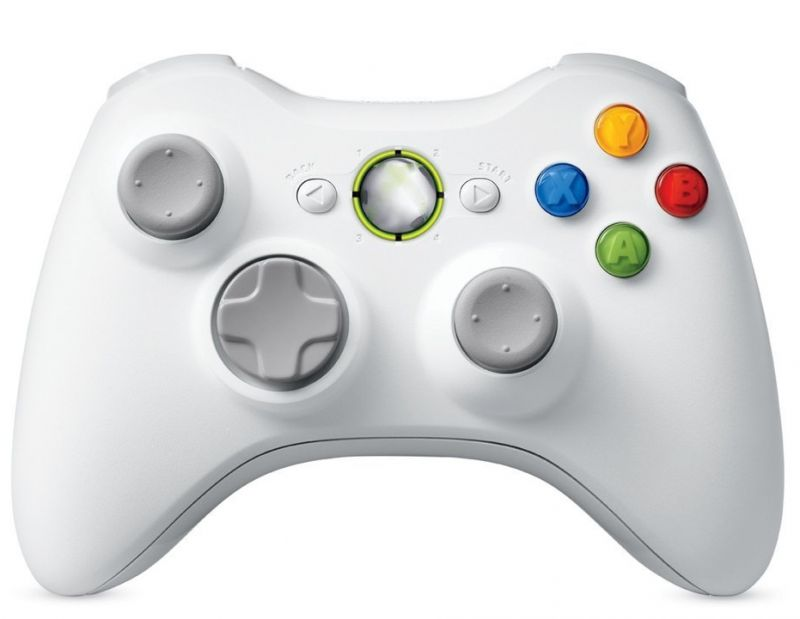 Draadloze Controller voor Xbox 360-Wit