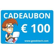 Geeektech.com 100,- Cadeaubon Cadeaukaart Voucher