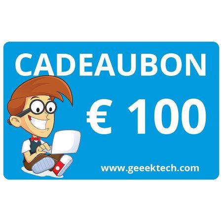 Geeek Geeektech.com 100,- Cadeaukaart Cadeaubon Voucher