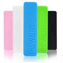 Mini-Powerbank 2600mAh für Smartphones und Tablets