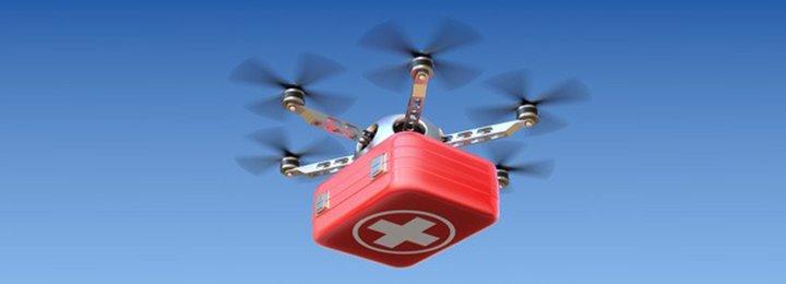 Drones gaan misschien wel jou leven redden in de toekomst