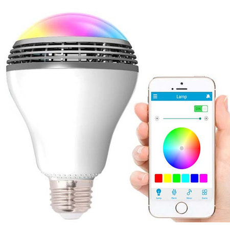 Geeek LED Lamp Playbulb with Bluetooth Speaker - RGBW