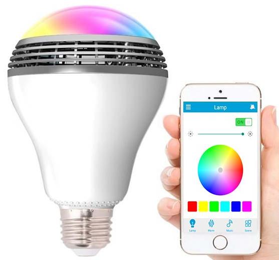 Rgbw Playbulb Bluetooth Led Lamp With Speaker DW9IHE2
