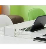 Geeek Power Port 5 Port USB-Ladestation - 40 Watt - Schwarz