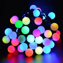 Bol Bulbs Light cord LED Christmas lights 5 meters RGB