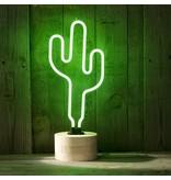 Geeek Neon Cactus Lamp Neon Light Green