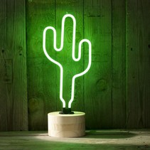 Neon Cactus Lamp Neon Light Green