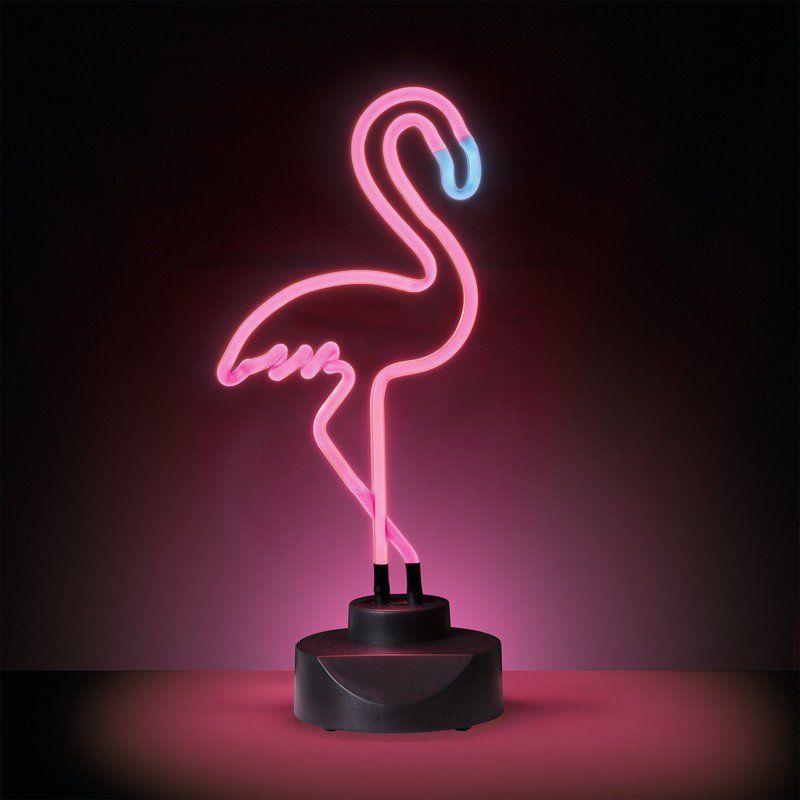 Geeek Neon Flamingo Lamp Neon Light Pink Geeektech Com