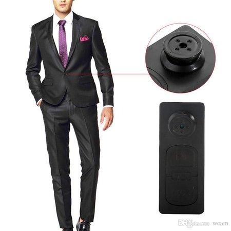 Geeek Spy Button Hidden HD Camera With 8GB Microphone