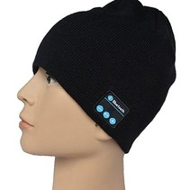 Bluetooth Headset Beanie Black