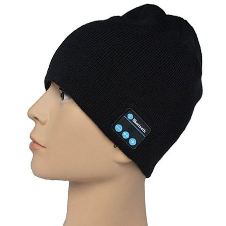 Geeek Bluetooth Headset Beanie Black