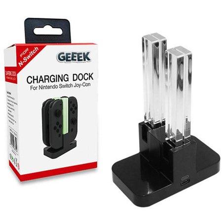 Geeek Charging Dock für 4 Switch Controllers