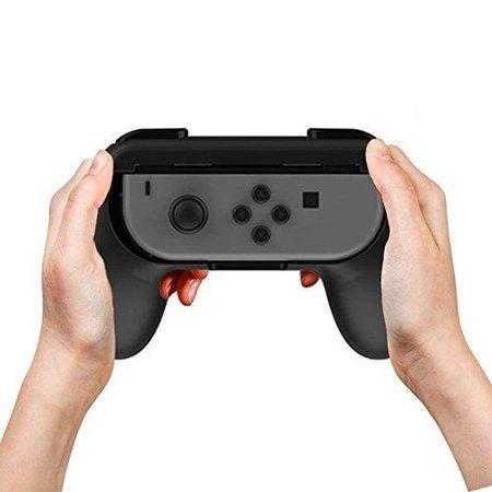 Geeek Joy-Con Grip Kit Set Hand Grips fur Switch Controllers