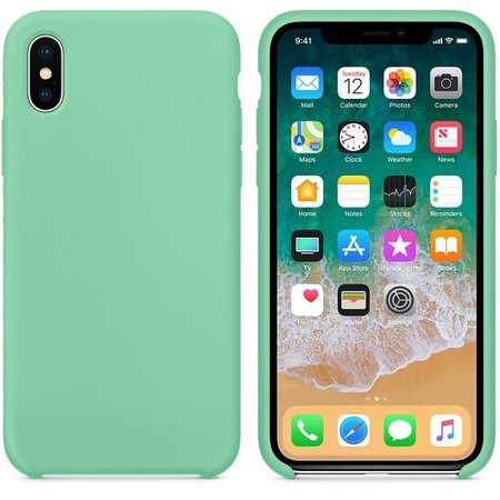 Geeek Hoogwaardige iPhone X / XS Silicone Case Cover Hoes