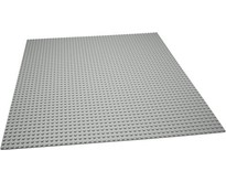 Grote Grondplaat Building plate for Lego Building blocks Gray 50 x 50